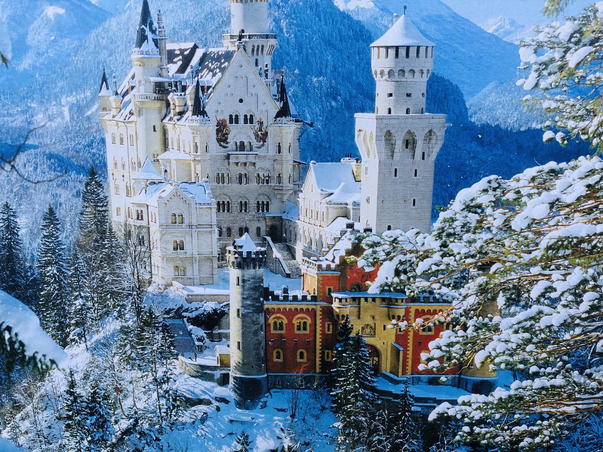西欧之旅:德法意瑞 家人新年休闲游 DAY11(德国 天鹅堡)